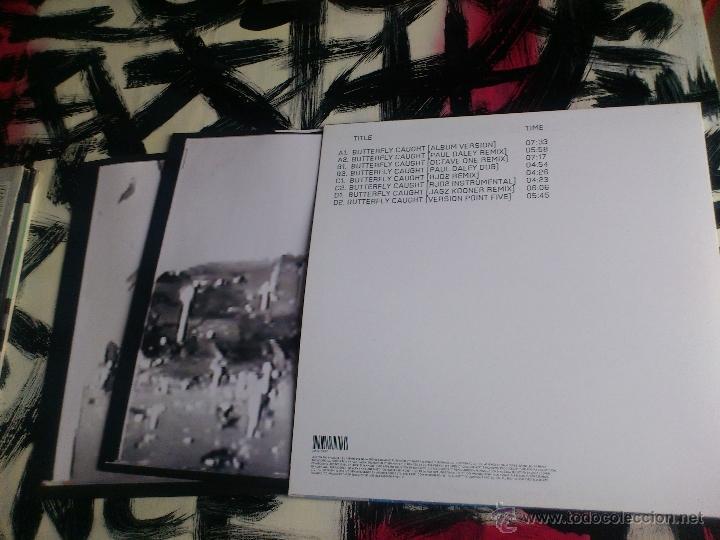 Discos de vinilo: MASSIVE ATTACK - BUTTERFLY CAUGHT - DOBLE VINILO - MAXI - VIRGIN - 2003 - Foto 4 - 51921883