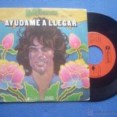 Discos de vinilo: B.J.THOMAS AYUDAME A LLEGAR SINGLE SPAIN 1976 PDELUXE. Lote 51922952