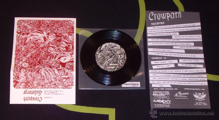 CROWPATH / SUBMERGE - SPLIT - 7'' [ABSTRACTION / SHOGUN / UP TO ELEVEN / TETEDEMORT, 2007] HARDCORE (Música - Discos de Vinilo - EPs - Heavy - Metal	)