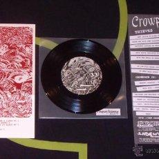 Discos de vinilo: CROWPATH / SUBMERGE - SPLIT - 7'' [ABSTRACTION / SHOGUN / UP TO ELEVEN / TETEDEMORT, 2007] HARDCORE. Lote 51928942