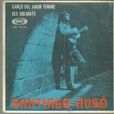Discos de vinilo: SANTIAGO AUSÓ SINGLE SELLO SONOPLAY AÑO 1968 EDITADO EN ESPAÑA. Lote 51929155