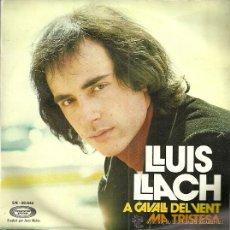 Discos de vinilo: LLUIS LLACH SINGLE SELLO MOVIEPLAY AÑO 1972 EDITADO EN ESPAÑA. Lote 51929327