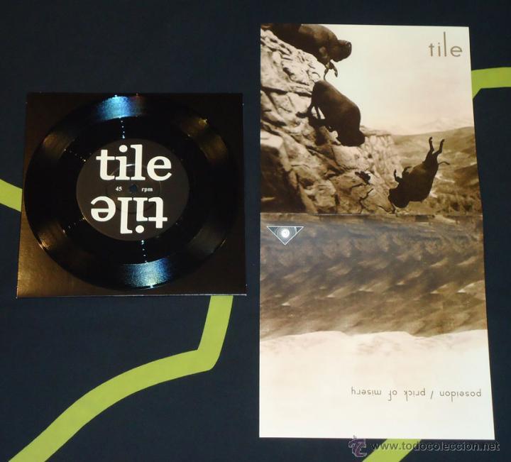 TILE - POSEIDON / PRICK OF MISERY - 7'' (Música - Discos de Vinilo - EPs - Heavy - Metal)