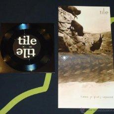 Discos de vinilo: TILE - POSEIDON / PRICK OF MISERY - 7'' [KULT OF NIHILOW, 2010] HARDCORE NOISE PUNK. Lote 51929496
