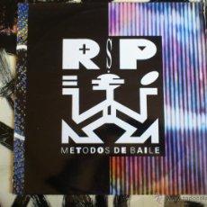 Discos de vinilo: METODOS DE BAILE - R.S.P. - LP - VINILO - CBS - 1990. Lote 51930658