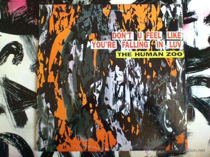 THE HUMAN ZOO - DON´T TURN AROUND - MAXI - VINILO - MAX MUSIC - 1993 (Música - Discos de Vinilo - Maxi Singles - Techno, Trance y House)