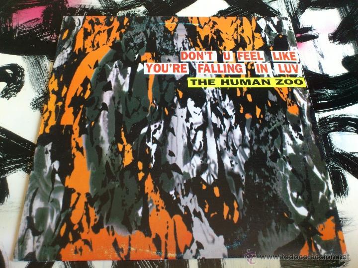 Discos de vinilo: THE HUMAN ZOO - DON´T TURN AROUND - MAXI - VINILO - MAX MUSIC - 1993 - Foto 2 - 51930790