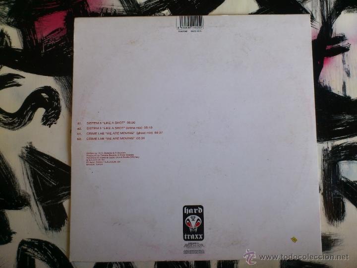 Discos de vinilo: SYSTEM 3 INTRODUCING CRIME LAB - ETERNAL SHINE E.P. - HARD TRAXX - VINILO - 2001 - Foto 3 - 51930928