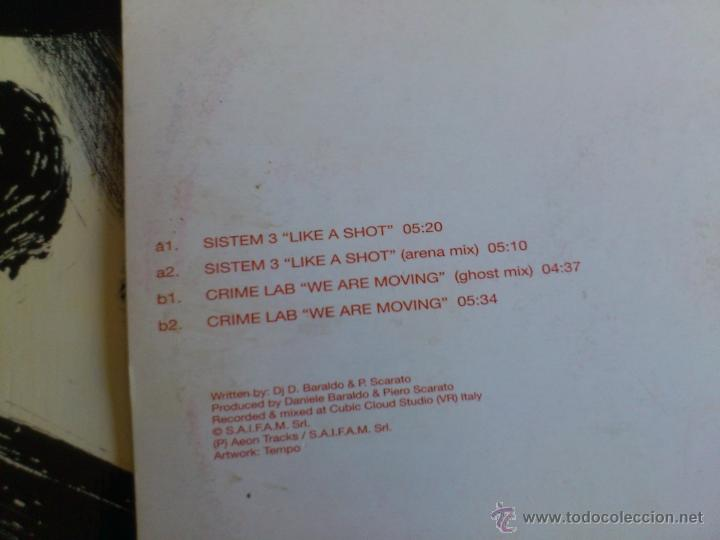 Discos de vinilo: SYSTEM 3 INTRODUCING CRIME LAB - ETERNAL SHINE E.P. - HARD TRAXX - VINILO - 2001 - Foto 4 - 51930928