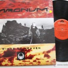 Discos de vinilo: MAGNUM- WINGS OF HEAVEN - SPANISH LP 1988 + INSERT- EXCELENTE ESTADO DE CONSERVACION.. Lote 51930961