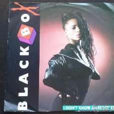 Disques de vinyle: BLACK BOX - I DON'T KNOW ANYBODY ELSE - SINGLE - 1990. Lote 51931236