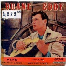 Discos de vinilo: DUANE EDDY / PEPE / SHAZAM! + 2 (EP 1961). Lote 51931763