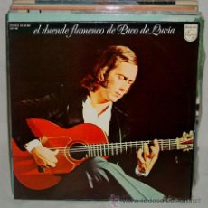 Discos de vinilo: LOTE 26 LP`S. PACO LUCIA-SARA MONTIEL-CHIQUETETE-5 MUSICALES-MANUREVA-TYLER... AÑOS 60-70-80. Lote 51932399