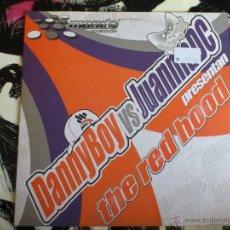 Discos de vinilo: DANNY BOY VS JUANMA DC - THE RED HOOD - MAXI - VINILO - MANDO - RESOLUTE. Lote 51935555