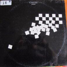 Discos de vinilo: LP - CHESS (AJEDREZ) - MUSIC BY BENNY ANDERSSON, TIM RICE AND BJORN ULVAEUS (DOBLE DISCO). Lote 51935720