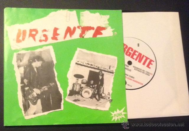 EP SINGLE VINILO URGENTE PUNK ROCK (Música - Discos de Vinilo - EPs - Punk - Hard Core)