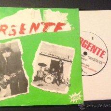 Discos de vinilo: EP SINGLE VINILO URGENTE PUNK ROCK. Lote 51935790
