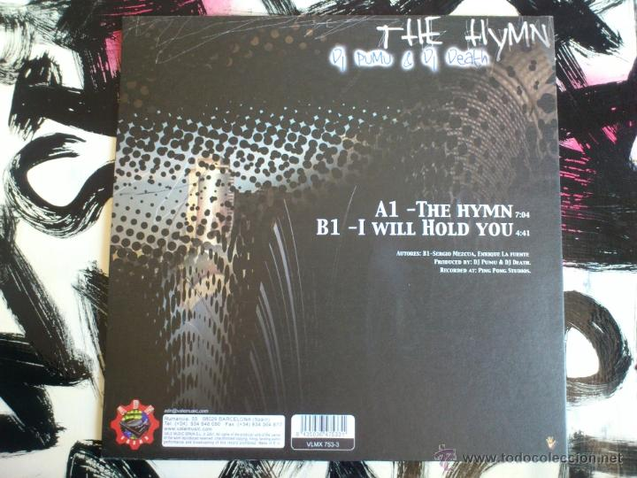 Discos de vinilo: DJ PUMU & DJ DEATH - THE HYMN - MAXI - VINILO - ADN SOUND - VALE MUSIC - 2001 - Foto 2 - 51935962