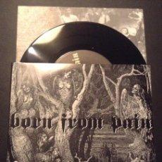Discos de vinilo: SINGLE EP VINILO BORN FROM PAIN IRON SKULL HARDCORE NYHC. Lote 51936706