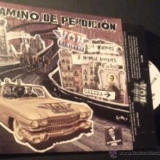 Discos de vinilo: SINGLE EP VINILO CAMINO DE PERDICION VON DANIKENS POST MORTEM STREET PUNK ROCK OI. Lote 51937430