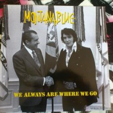 Discos de vinilo: MONTANA BLUE - WE ALWAYS ARE WHERE WE GO - LP - VINILO - BMG - 1991 - ELVIS Y NIXON - MONTANABLUE. Lote 51938668