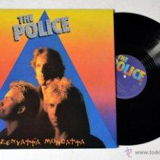 Discos de vinilo: DISCO DE VINILO. LP .THE POLICE: ZENYATTA MONDATTA. AÑO 1980. Lote 53245484