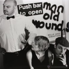 Discos de vinilo: 3LP BELLE & SEBASTIAN PUSH BARMAN TO OPEN OLD WOUNDS VINILO + MP3. Lote 151436529