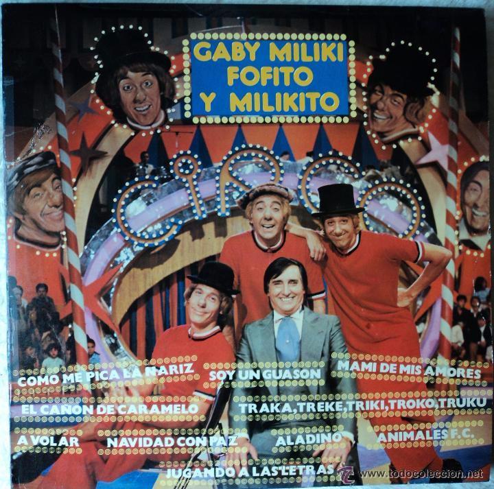 GABY, MILIKI, FOFITO Y MILIKITO LP (Música - Discos - LPs Vinilo - Música Infantil)