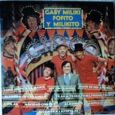 Discos de vinilo: GABY, MILIKI, FOFITO Y MILIKITO LP. Lote 51956219