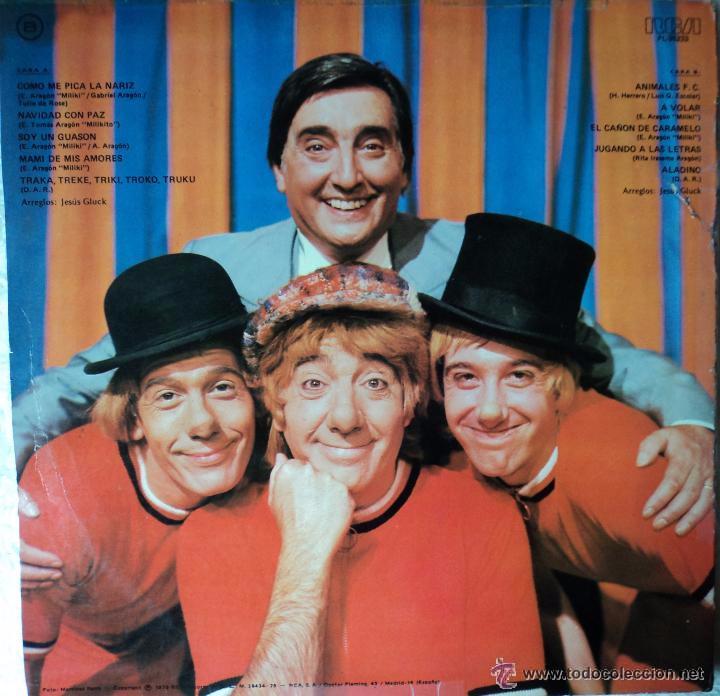 Discos de vinilo: GABY, MILIKI, FOFITO Y MILIKITO LP - Foto 2 - 51956219