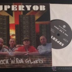 Discos de vinilo: SINGLE EP VINILO SUPERYOB ROCK 'N' ROLL GHOSTS PUNK OI SKINHEAD. Lote 51956982