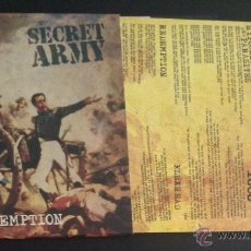 Discos de vinilo: SINGLE EP VINILO SECRET ARMY REDEMPTION STREET PUNK OI SKINHEAD. Lote 51957250