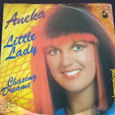 Discos de vinilo: ANEKA - LITTLE LADY - SINGLE - 1981. Lote 51960742