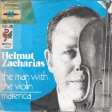 Discos de vinilo: HELMUT ZACHARIAS - THE MAN WITH THE VIOLIN / MARENCA - MARFER - 1975. Lote 83772078