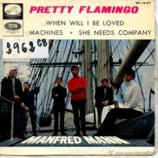 Discos de vinilo: MANFRED MANN / PRETTY FLAMINGO / MACHINES + 2 (EP 1966). Lote 51964764