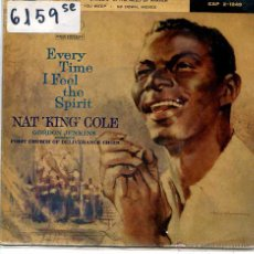 Discos de vinilo: NAT KING COLE / I FOUND THE ANSWER / GO DOWN, MOSES + 2 (EP 1960). Lote 51965256