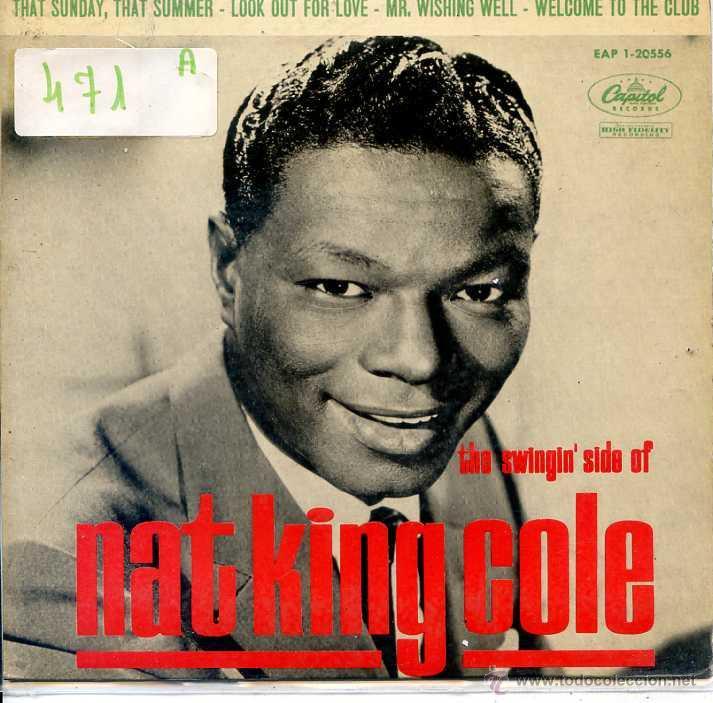 NAT KING COLE / THAT SUNDAY, THAT SUMMER / LOOK OUT FOR LOVE + 2 (EP 1963) (Música - Discos de Vinilo - EPs - Pop - Rock Internacional de los 50 y 60)