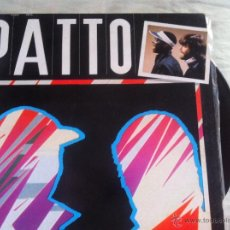Discos de vinilo: LP PATTO-PATTO-BLACK AND WHITE. Lote 51967053