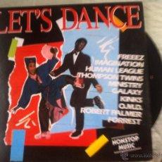 Discos de vinilo: LP LET´S DANCE-VARIOS. Lote 51967206