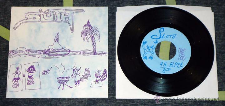 SLOTH - WE PUT THE MESSAGE IN MISOGYNY - 7'' [#62/100] (Música - Discos de Vinilo - EPs - Heavy - Metal)