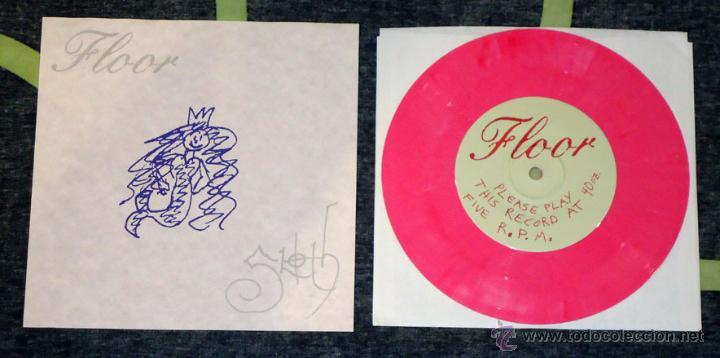 FLOOR / SLOTH - SPLIT - 7'' [LIM. 100] (Música - Discos de Vinilo - EPs - Heavy - Metal)