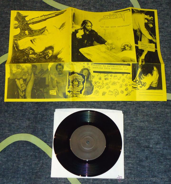 DISREANTIYOUTHHELLCHRISTBASTARDASSMANX / SLOTH - SPLIT - 7'' (Música - Discos de Vinilo - EPs - Heavy - Metal)