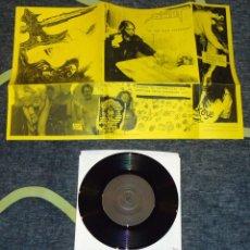 Discos de vinilo: DISREANTIYOUTHHELLCHRISTBASTARDASSMANX / SLOTH - SPLIT - 7''. Lote 51968409