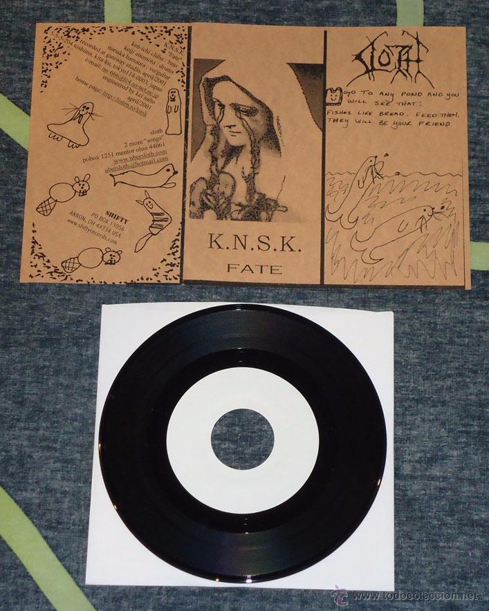 SLOTH / K.N.S.K. - SPLIT - 7'' [LIM. 150] (Música - Discos de Vinilo - EPs - Heavy - Metal)