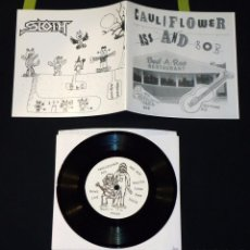 Discos de vinilo: SLOTH / CAULIFLOWER ASS AND BOB - SPLIT - 7''. Lote 51968487