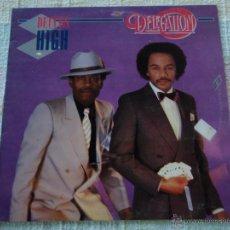 Discos de vinilo: DELEGATION ( DEUCES HIGH ) 1982 - SPAIN LP33 ARIOLA. Lote 51981055