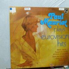 Discos de vinilo: PAUL MOURIAT Y SU GRAN ORQUESTA -PLAYS EUROVISION HITS. Lote 51981448