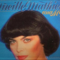 Discos de vinilo: LP MIREILLE MATHIEU CANTA EN ESPAÑOL : UNA MUJER ( SANTA MARIA DEL MAR , GOTAS DE LLUVIA, ETC. Lote 51982538