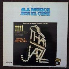 Discos de vinilo: BSO, ALL THAT JAZZ (BELTER) LP ESPAÑA, EMPIEZA EL ESPECTACULO, BOB FOSSE. GEORGE BENSON ON BROADWAY. Lote 52514184