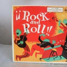 Discos de vinilo: ROCK AND ROLL - EP, ELVIS PRESLEY+3 - RCA 3-20154 / 1956 - FASCIMIL 1987. Lote 51974690